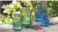 Confection Jars with a vintage look