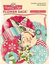 October Afternoon Holiday Style Flower Sack  50 by LaPetiteFeuille, $2.25