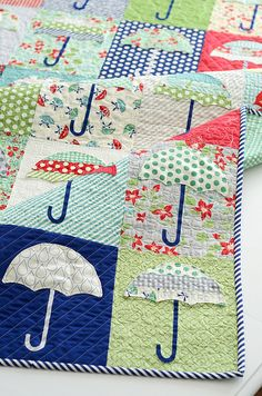 Raincheck quilt by croskelley, via Flickr