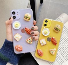 Food Phone Cases, Girly Phone Cases, Pretty Iphone Cases, Glitter Phone Cases, Iphone Phone Cases, Iphone Case Covers, Iphone 11, Phone Cover, Kawaii Phone Case