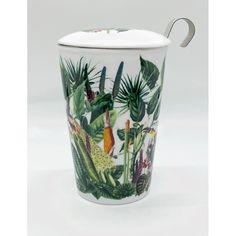 Mug to go Teaeve Rainforest Eigenart 0.33l Hana, To Go, Bronze, Maker, Travel Mug, Barware, Tableware, Teacup, Clock