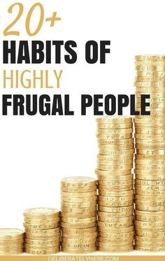 Habits of highly frugal people - learn what frugal people DON'T do to save money. Frugal living for beginners. Save money with frugal living. Save money fast this month with these thrifty tips. Ways To Save Money, Money Saving Tips, How To Make Money, Money Tips, How To Live Frugal, Managing Money, Saving Ideas, Frugal Living Tips, Frugal Tips