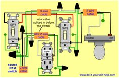 Adding a Hot Receptacle to a 3Way Switch Circuit in 2019