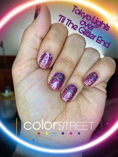 Nail Color Combos, Nail Colors, Hot Nails, Hair And Nails, Flamingo Color, Sassy Nails, Manicure And Pedicure, Pedicures, Colorful Nail Designs