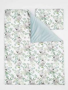 Luxury komplett babaágynemű szett - Mama Koala bársonnyal 95x70 - Oeko Tex 100, Bed Pillows, Pillow Cases, Velvet, Luxury, Products, Pillows, Gadget