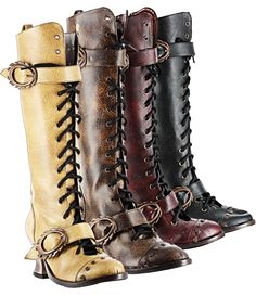 http://www.steamtropolis.com/ So is it possible to own too many awesome pairs of boots? I think not!
