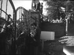 Elvis had the gates of Graceland installed the same year he purchased the home