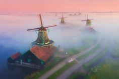 Magic Windmills on Behance