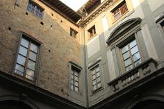 SIGHTS. Palazzo Nonfinito. Bernardo Buontalenti started work on this residence for the Strozzi family in 1593. He and others completed the Palladian-style 1st floor and courtyard but the upper floors were never completely finished, hence the building's name. Buontalenti's wind