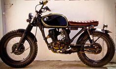 Image result for 77 honda 125cc cafe racer