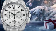 RELOJ CALIBRE DE CARTIER CRONÓGRAFO Cartier, Omega Watch, Chronograph, Advent Calendar, Clock, Jewels, Watches, Accessories, Merry Christmas