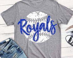 Royals Baseball T-Shirt Baseball Shirt Designs, Baseball Mom Shirts, Royals Baseball, Baseball Uniforms, Baseball Socks, Team Shirts, Vinyl Shirts, Sports Shirts, Baseball Bats