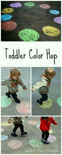 Kleur springen