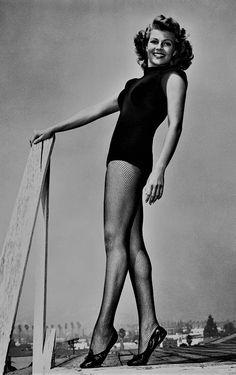 L for legend: Rita Hayworth