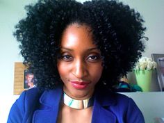 I think this might be store-bought hair, but either way it is gorgeous.