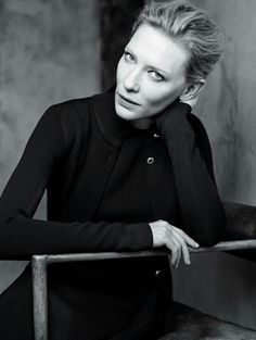 Cate Blanchett, photographed by Karim Sadli for The New York Time Style, Fall Women's Fashion, 2015.