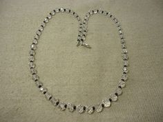 """Aaa+ Natural Brazilian Crystal Rondelle Faceted 20"""" Beads Necklace, 125 Cts. #Handmade #Faceted"""