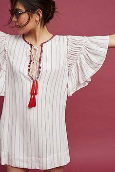 Ira Tasseled Mini Dress