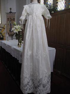 A Danish Royal Christening Gown :: Little Doves Christening Wear