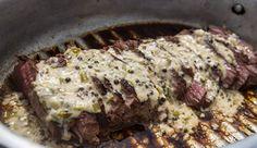 Kudu Loin & Flambed Green Peppercorn Sauce #UltimateBraaiMaster #Picknpay