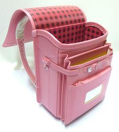 Japanese Randoseru Backpack Peach Pink Clarino Kawaii Japan Back ...