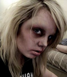 possible zombie make up inspiration without latex