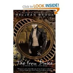April pick for Vaginal Fantasy Hangout, The Iron Duke by Meljean Brooks.  Steampunk, Zombies and Smut! Yum! books