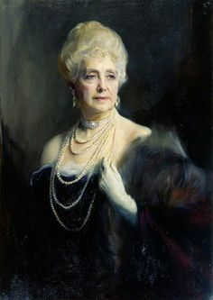 Philip Alexius de Laszlo - 1869/1937 - Pintor Britânico.  Maybell Countess of Airlie.