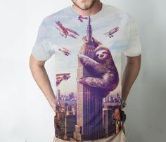 Slothzilla T-shirt