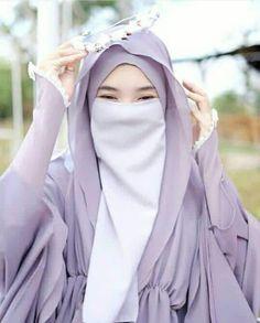 Hijab Niqab, Muslim Hijab, Muslim Dress, Mode Hijab, Hijab Dress, Anime Muslim, Hijabi Girl, Girl Hijab, Islamic Fashion