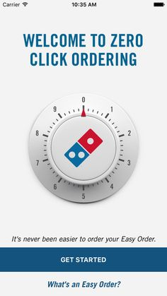 Domino's has the app for you. The company today unveiled a new mobile application that lets you place an order simply by launching the app on. Cell Phone Service, Order Pizza, Best Cell Phone, New Mobile, News Online, Mobile Application, Cooking Timer, Product Launch, Let It Be