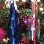 Glass Bottle Bell Christmas Ornaments (G2 Bottle Cutter)