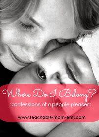 Teachable {MOM}ents: Where Do I Belong?