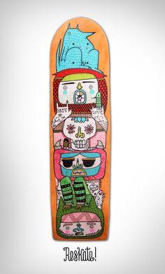 Reskate Board - amaia arrazola illustration