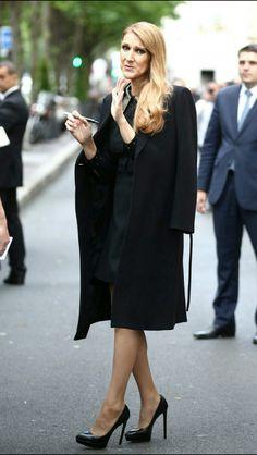 Celine Dion à Paris 16 juin 2016 .