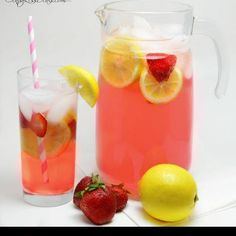 I am making these tonight! Add lemon and strawberries for an even more refreshing drink!