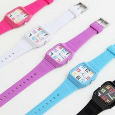 Jelly Strap Watch Discount Jewelry, Digital Watch, Watches, Jelly, Inspirational, Technology, Accessories, Fashion, Wrist Watches