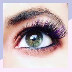 Mermaid Eyelash Extensions Are Here Just in Time for Halloween