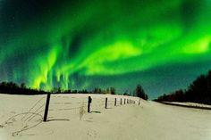 Aurora Borealis - Stony Plain, Alberta, Canada