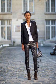 C'est Chic: Street Style from Paris  - HarpersBAZAAR.com