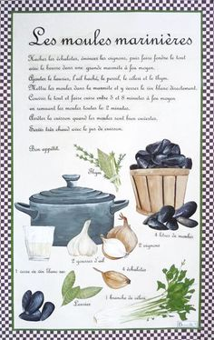Beauvillé Moules marinieres