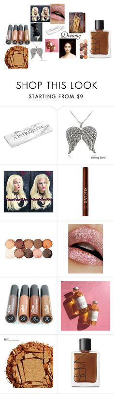 """Earth goddess"" by xzentra-1 ❤ liked on Polyvore featuring beauty, Icz Stonez, NYX, Lime Crime, Urban Decay and NARS Cosmetics"