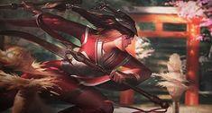Bloodmoon 🌚❤️🎇 . . . #bloodmoon#leagueoflegends #artwork #anime #games #gaming #lol #skin #love