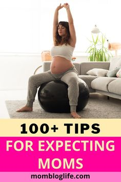 Pregnancy is full of new and often overwhelming things. What to eat? How much to eat? What exercise is safe? How can we afford baby? So many questions all needing answers. We share 100+ tips for you. #pregnancytips #pregnancynutrition #expectingbaby