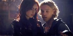Jace and Clary. <3