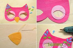 Do you have any ideas for the coming Children's Day? If not, look at today's Pandahall tutorial on how to make lovely felt mask for kids! You can never miss it!