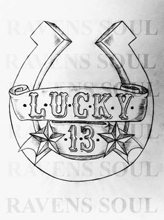 Lucky 13 by RavensSoulDesigns