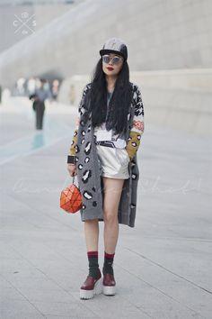 Seoul Fashion Week 2015S/S Street style!!!
