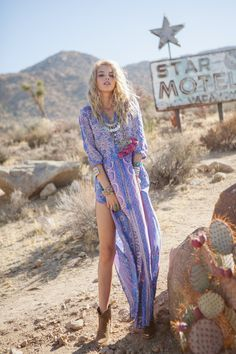 Spell and the Gypsy Collective_Boho Blossom maxi dress_Lavender__9309
