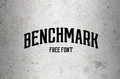Benchmark Free Font